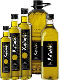 Xalima xálima olive oil is oil from the manzanilla cacereña variety