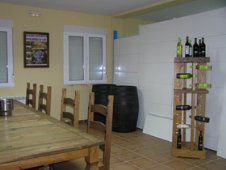 Tasting area, specially equipped for visitors